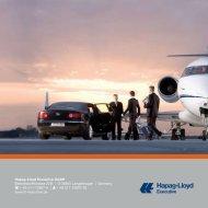 Your Jet - Hapag-Lloyd Executive