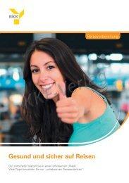 Gesund und sicher auf Reisen - Kkf-Verlag