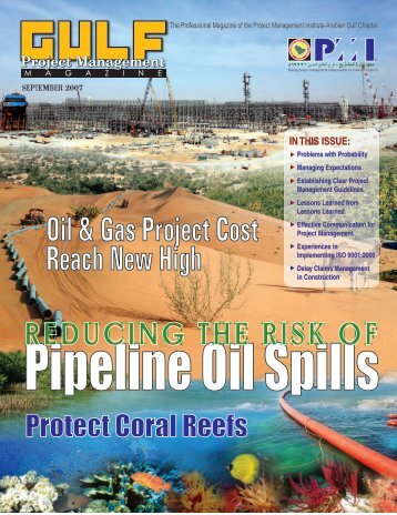 Oil & Gas Project Cost Reach New High - Project Management ...