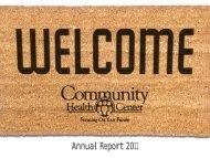 CHC_Annual_Report-2011 - Community Health Center