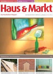 Ausgabe Juli 2013 - Haus & Markt