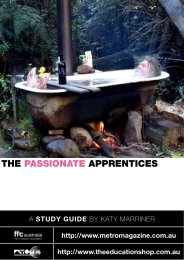 to download THE PASSIONATE APPRENTICE study ... - Ronin Films