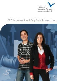 2012 International Area of Study Guide: Business & Law