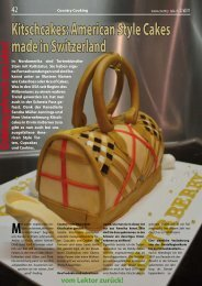 Kitschcakes: American Style Cakes made in Switzerland