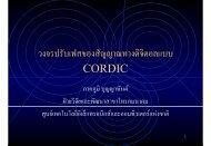 วงจรปรับเฟสของสัญญาณทางดิจิตอลแบบ CORDIC - Nectec