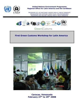 Caracas - Green Customs Initiative