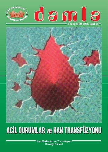 damla - Kan Merkezleri ve Transfüzyon Derneği