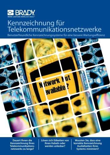 Kennzeichnung für Telekommunikationsnetzwerke