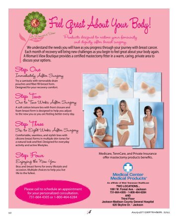 Feel Great About Your Body! - Tennessee Women's Journal