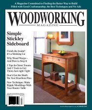 Summer 2009 - Popular Woodworking Magazine