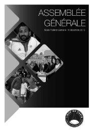 Pv Assemblée Générale du 15 décembre 2012 - Ligue de Paris de ...
