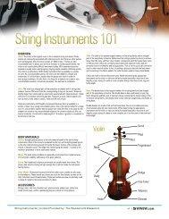 String Instruments 101