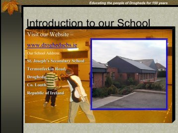 Introduction to our School