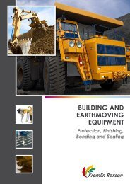 Building and earthmoving equipment - Kremlin Rexson