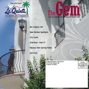 Art. Culture. Life! - La Quinta Chamber of Commerce