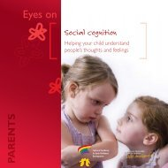 Eyes on Social cognition: Helping your child understand people's ...
