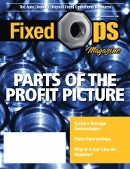 September 08: Parts of the Profit Picture - Fixed Ops