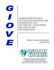 COMPUTERGESTEUERTE STATION ZUM ABSAUGEN ... - Wigam