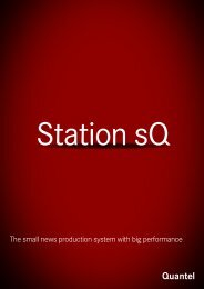 The small news production system with big performance - Quantel