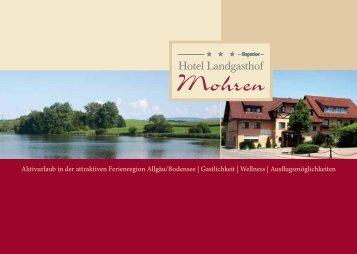 Hotel-Prospekt zum Download (1,1 MB) - Hotel Landgasthof Mohren