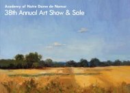 38th Annual Art Show & Sale - Academy of Notre Dame de Namur