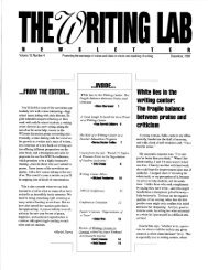 18.4 - The Writing Lab Newsletter