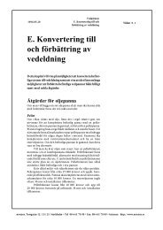 E. Konvertering till och förbättring av vedeldning - Novator