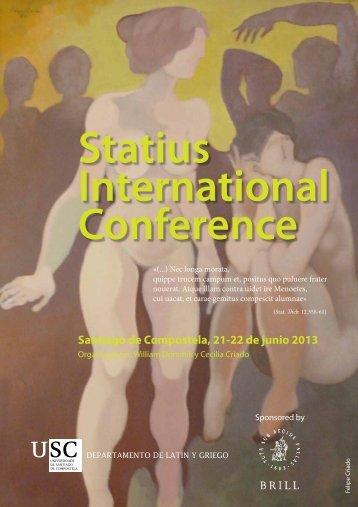 Santiago de Compostela, 21-22 de junio 2013 Statius International ...