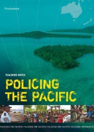 Policing the Pacific Teachers Notes