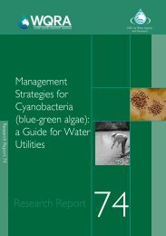 Management Strategies for Cyanobacteria - Water Research ...