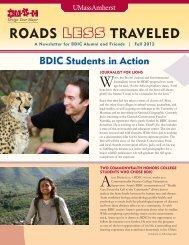 roads less traveled - BDIC - University of Massachusetts Amherst