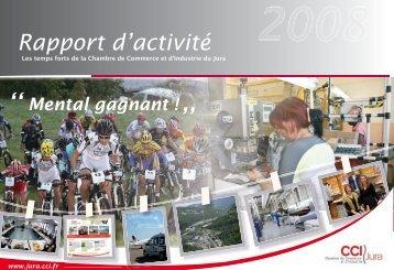 Rapport d'activité - CCI du Jura