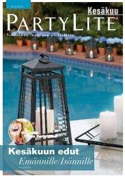 Kesäkuu - PartyLite