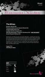 Winemaster's Selection June 2013 - Mixed - The Wine Society