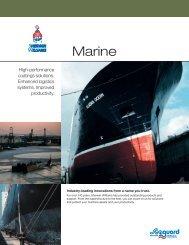 Marine Coatings Brochure - Protective Coatings, Protective & Marine ...