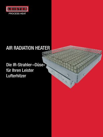 Air Radiation Heater - Leister