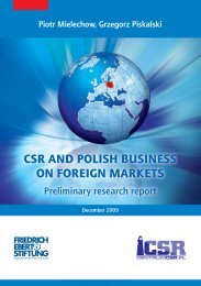 csr and polish business on foreign markets - CentrumCSR.PL