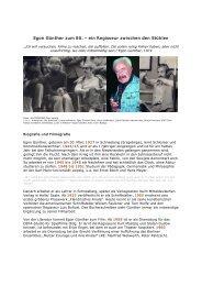 Infos über Egon Günther - PROGRESS Film-Verleih