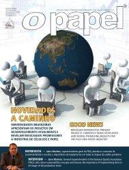 NOVIDADES A CAMINHO - Revista O Papel