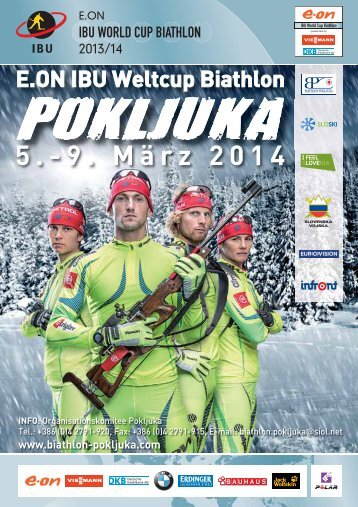 weltcup biathlon pokljuka 2014 - Bled