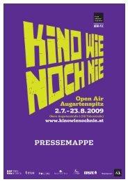 PRESSEMAPPE - Filmarchiv Austria