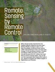 Remote sensing by remote control - BAE Systems GXP Geospatial ...