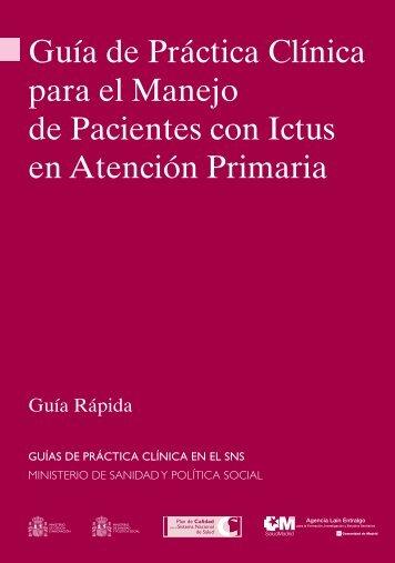 Guía de Práctica Clínica para el Manejo de Pacientes con Ictus en ...