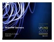 BrewMP Servers - Uplinq