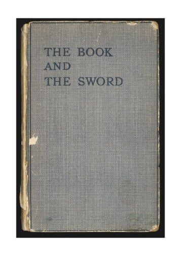 """Page 1 Page 2 Page 3 THB BOOK AND THB SWORD """"THBN .um ..."""