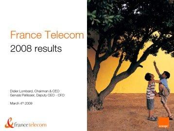 English version of the presentation - Orange.com