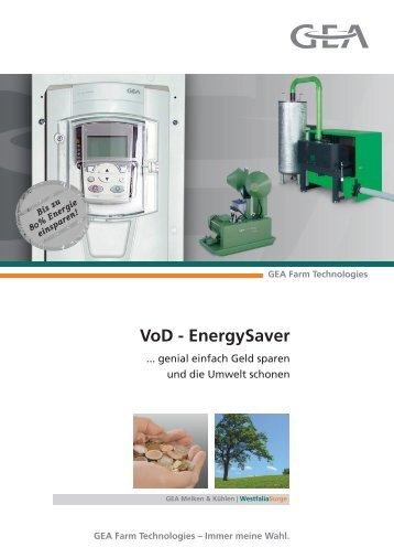Der VoD - EnergySaver - GEA Farm Technologies
