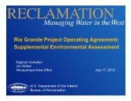 Rio Grande Project Operating Agreement - International Boundary ...