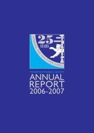 BTS Short Annual report 2007 - Brit Thoracic