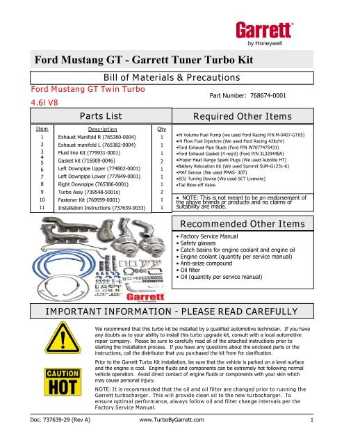 2001 ford mustang gt owners manual